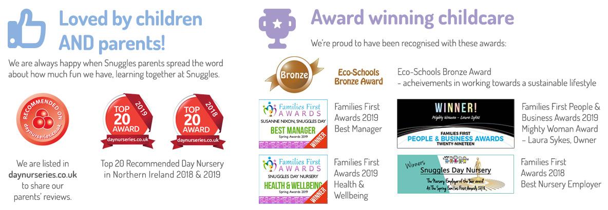 award winning childcare