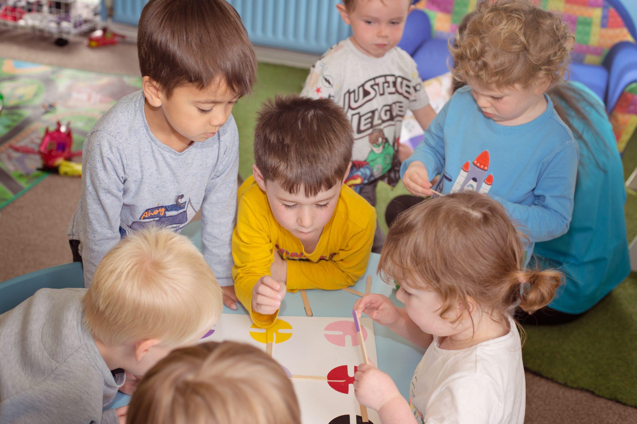 Pre Schoolers - Snuggles Day Nursery Bangor