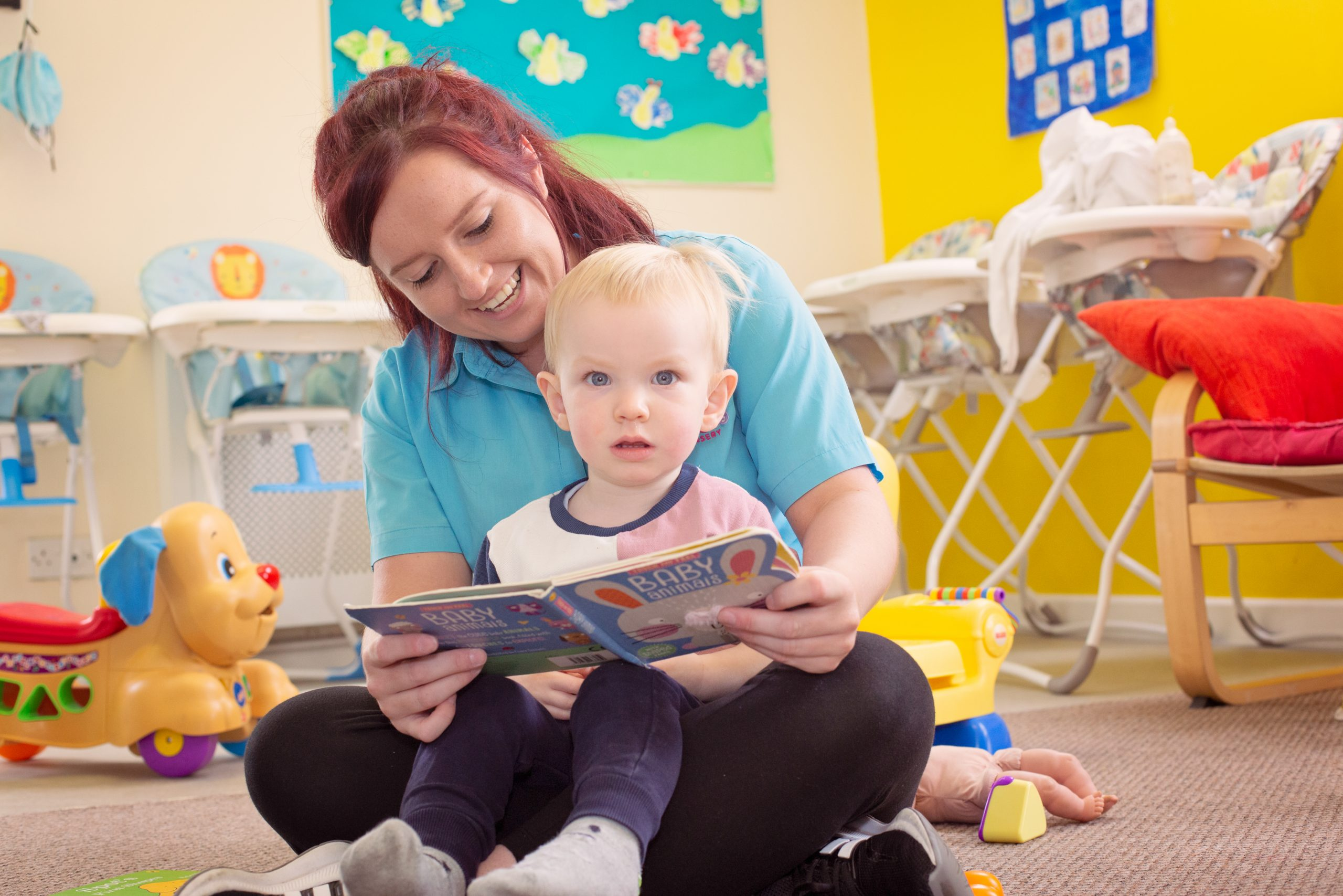 Story Time at Snuggles Day Nursery