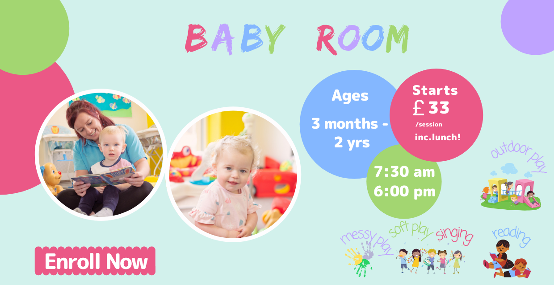 Snuggles Day Nursery Bangor - Baby Room