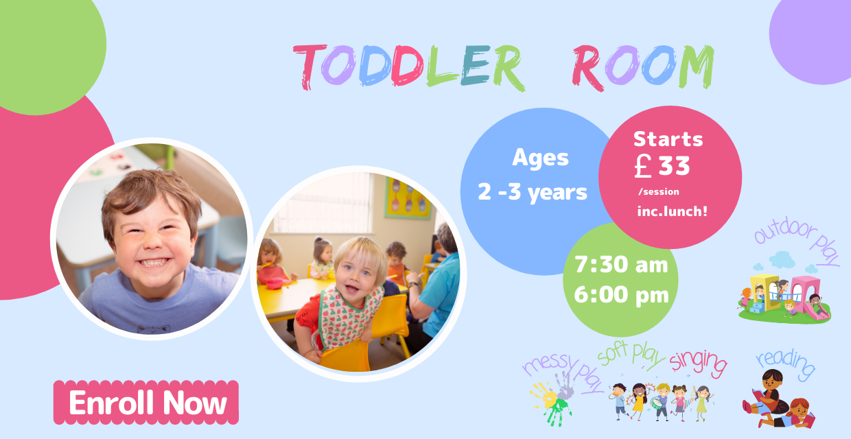 Snuggles Day Nursery Bangor - Toddler Room