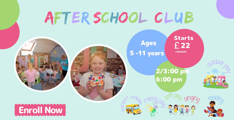 After School Snug Club - Snuggles Day Nursery Bangor